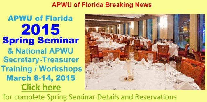 APWU_Florida_Spring_Seminar_2015
