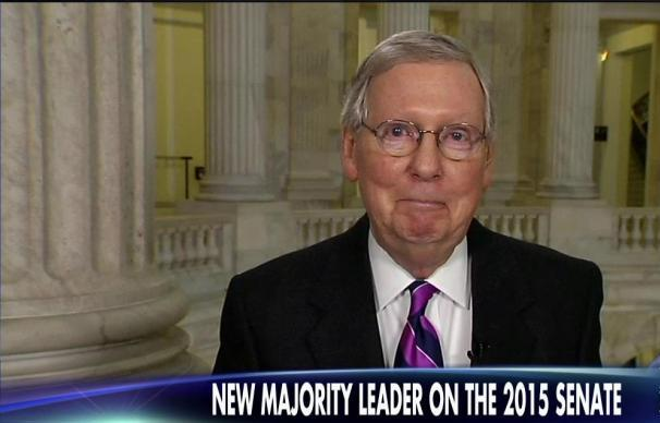 Republicans captured control of the Senate and Senate Majority Leader Mitch McConnell (R-KY) will lead a caucus of 54 Republicans, while Senate Minority Leader Harry Reid's (D-NV) caucus included 44 Democrats and two independents.