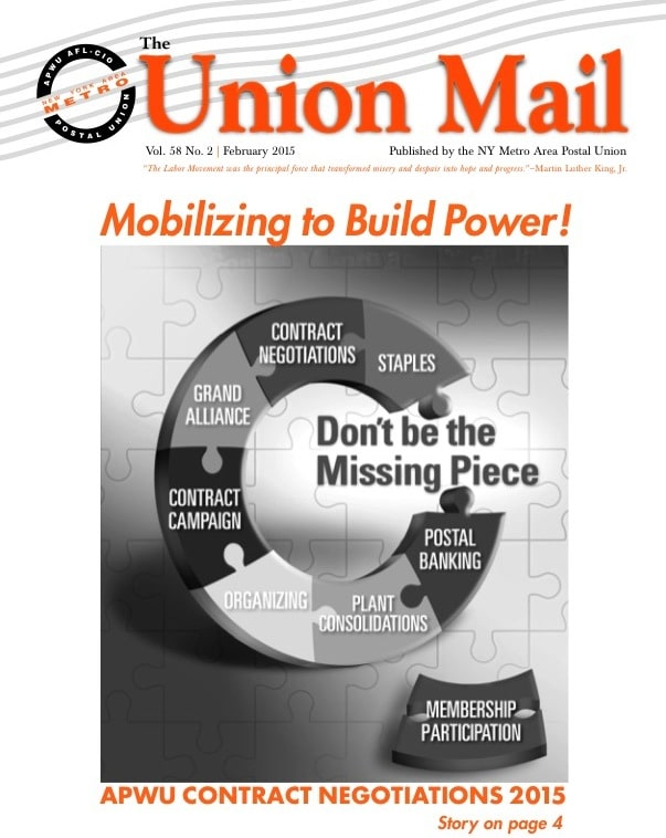 Click image for PDF of February 2015 The Union Mail