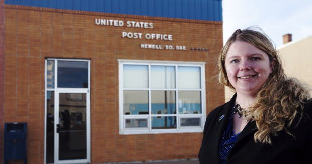 Anna Hermanson moved to Newell last year and was surprised when she received a $34 bill from the U.S. Post Service for a post office box. The Postal Service since has backtracked on a policy that required some local residents without mailboxes to rent a post office box to receive mail.