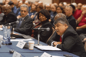 Trumka's opening statement (click image to enlarge)
