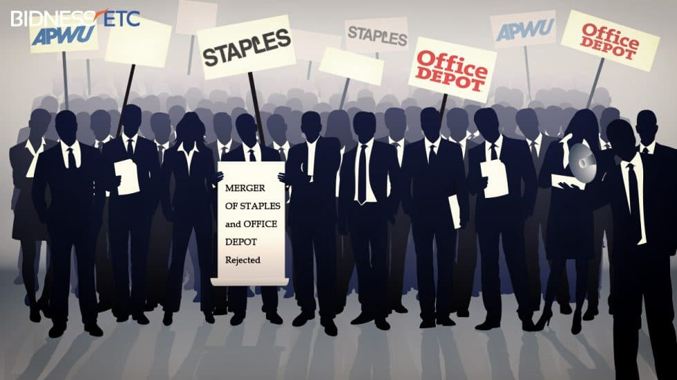 APWU opposes the merger between Office Depot and Staples by carrying out protests and making preparations to legally challenge the issue. Bidness Etc discusses why the union has decided to stand against the merger
