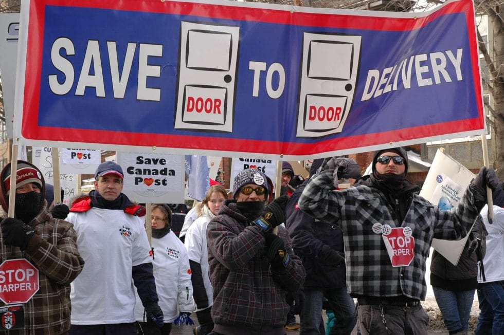 CANADIAN UNION OF POSTAL WORKERS - Rally For Postal Service