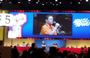 Jeff Kehlert at 2014 APWU Biennial National Convention