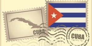 postage stamp Cuba