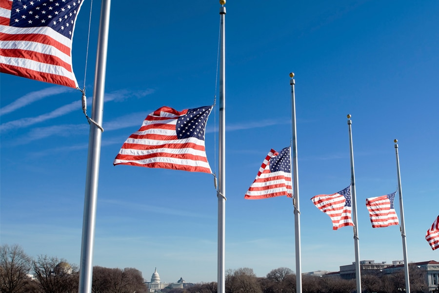 Flags-At-Half-Staff