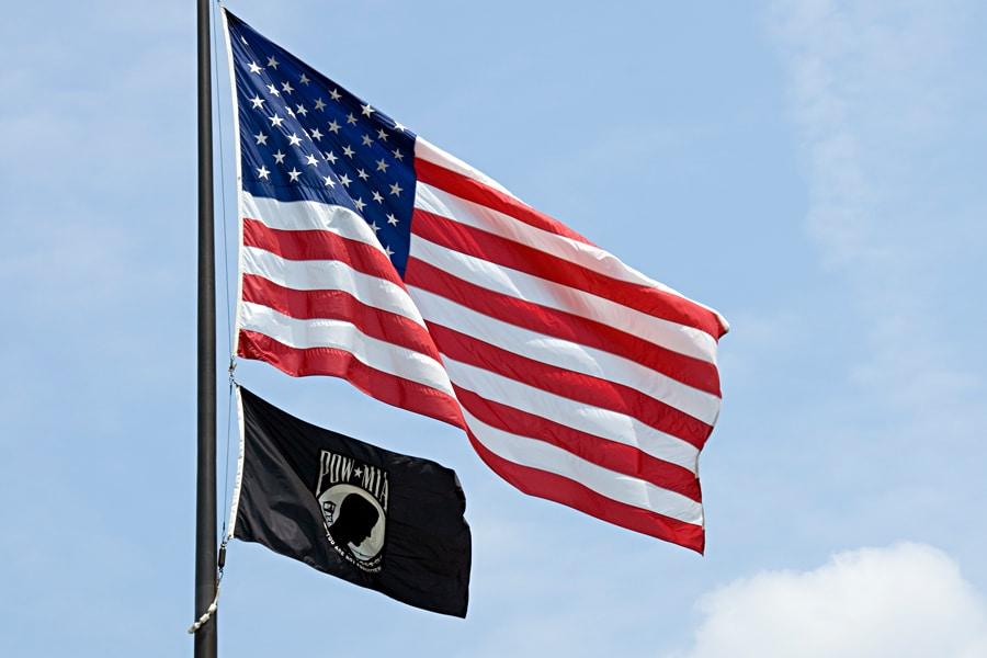Flags-POW-MIA