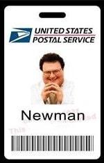Newman-badge