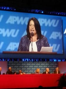 Kim Guy (2014 APWU Convention)