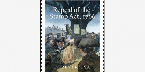 Repeal of the Stamp Act 1766 Forever Stamp Sheet of 10