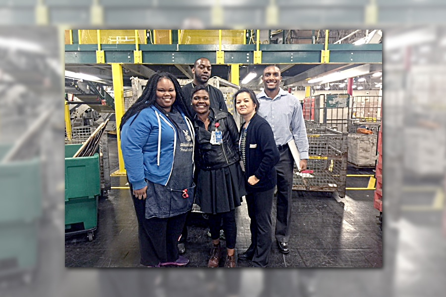 Los Angeles Processing and Distribution employees have helped Los Angeles District boost its Priority Mail overnight score.