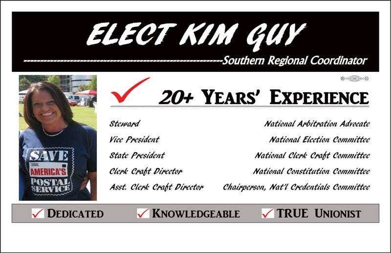 Elect Kim Guy