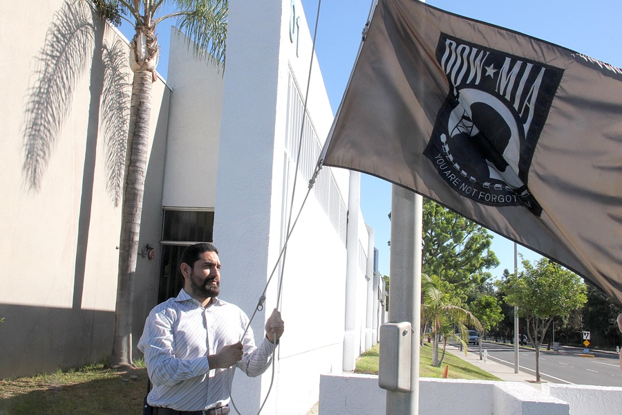 flag-pow-mia-veterans-day