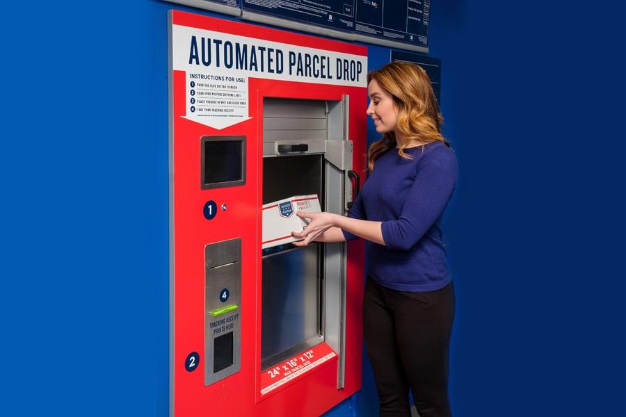 Usps Return Label >> USPS: Automated Parcel Drops ease shipping, returns – 21st ...