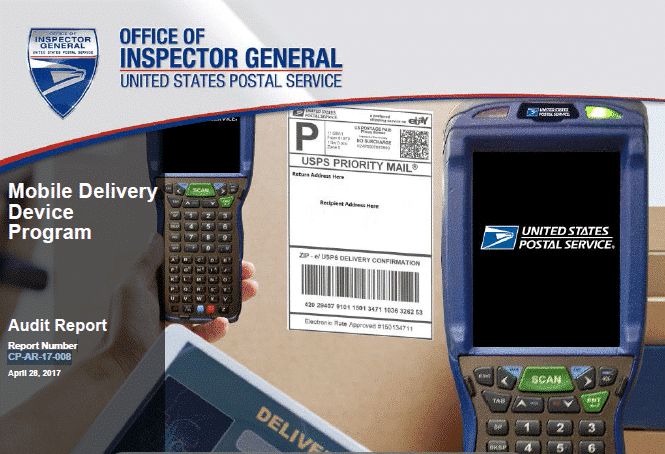 Usps Oig Report Mobile Delivery Device Program 21st