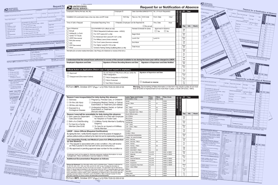 Usps Updates Ps Form 3971 21st Century Postal Worker