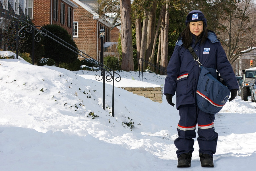 Usps Offers Winter Dressing Tips To Stay Warm And Dry 21st