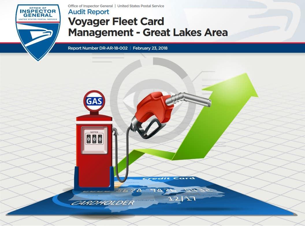 oig voyager fleet card management great lakes area 21st century postal worker - Voyager Fleet Card