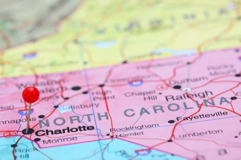 Charlotte Georgia Map.Any Custodians Looking To Transfer To Charlotte Nc From Georgia