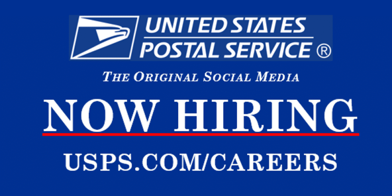 USPS is Hiring in Minnesota, Wisconsin, Iowa and Illinois